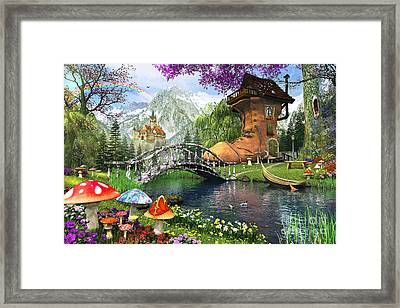 The Old Shoe House Framed Print