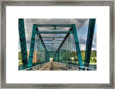 The Old Sixth Street Bridge Framed Print by Robert Pearson