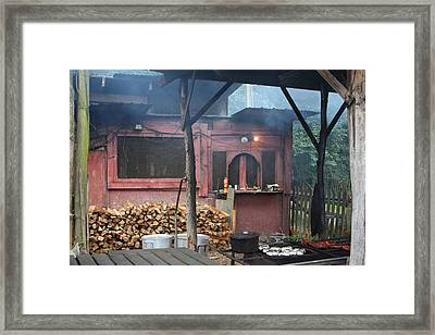 The Old Smoke Shack Framed Print