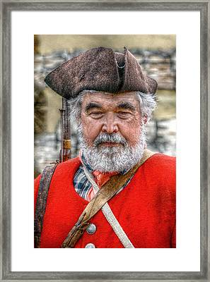 The Old Soldier Framed Print by Randy Steele