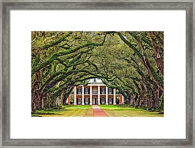 The Old South Framed Print by Steve Harrington
