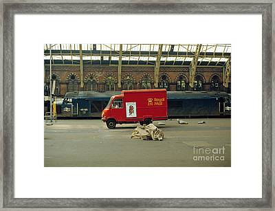 The Old St. Pancras Station Framed Print by David Davies