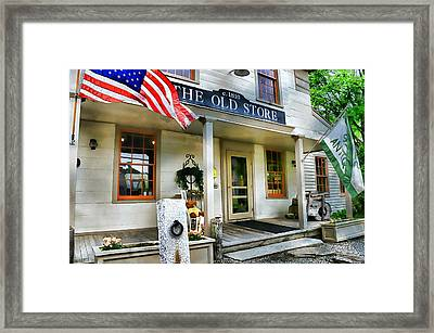 The Old Store Framed Print by Diana Angstadt