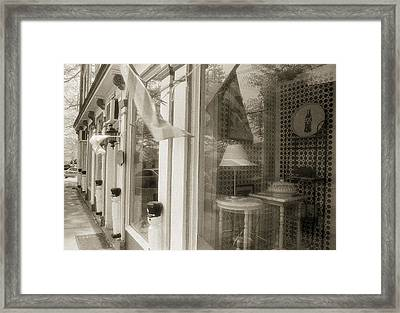 The Old Store Framed Print by Jim Cook