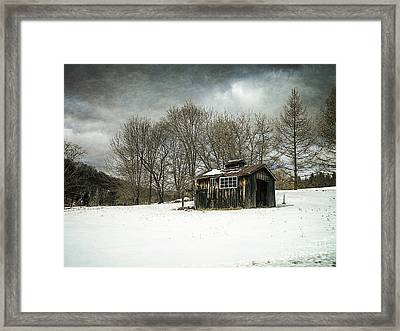 The Old Sugar Shack Framed Print