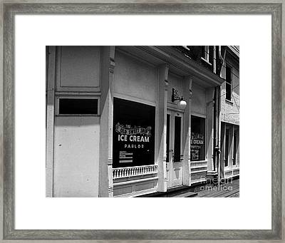 The Old Sweet Shop Framed Print by   Joe Beasley