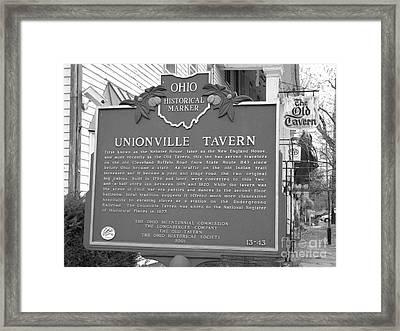 The Old Tavern II Framed Print