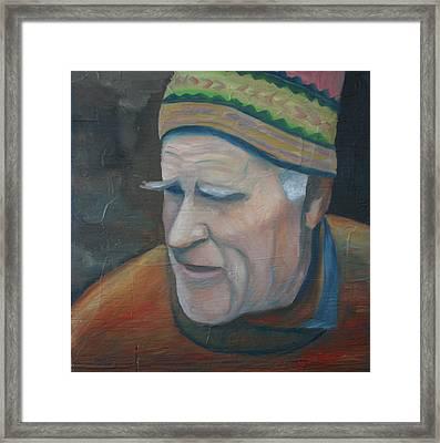 The Old Teacher Framed Print by Stephen Degan