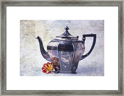 The Old Teapot Framed Print by Garry Gay