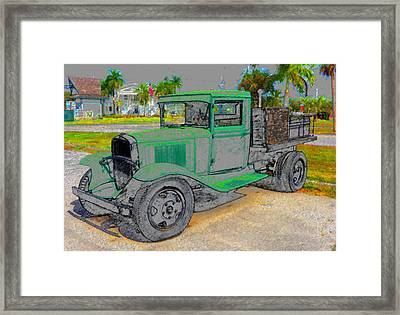 The Old Thirty One Framed Print
