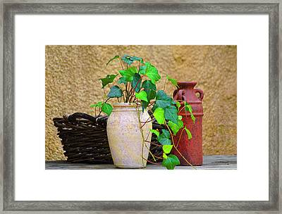 The Old Times Framed Print by Carolyn Marshall