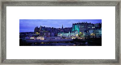 The Old Town Edinburgh Scotland Framed Print by Panoramic Images