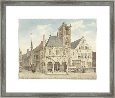 The Old Town Hall In Amsterdam The Netherlands Framed Print by Quint Lox