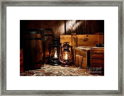 The Old Warehouse Framed Print by Olivier Le Queinec