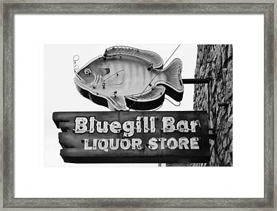 The Old Watering Hole Framed Print