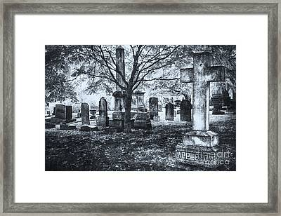 The Old Weathered Cross - Greensboro North Carolina II Framed Print by Dan Carmichael