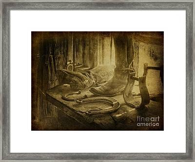 The Old West Framed Print