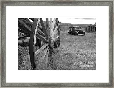The Old West In Bodie California Framed Print by Kelly Morvant