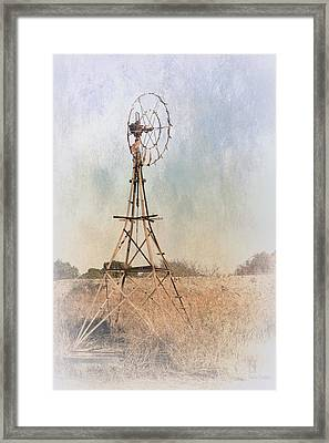 The Old Windmill Framed Print by Elaine Teague