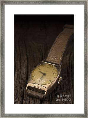 The Old Wrist Watch Framed Print