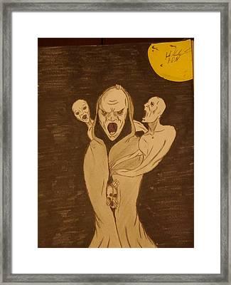 The Omen Framed Print by Joshua Massenburg