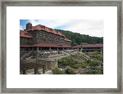 The Omni Grove Park Inn Framed Print by David Oppenheimer