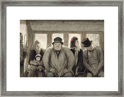 The Omnibus Framed Print