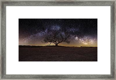 The One Framed Print by Aaron J Groen