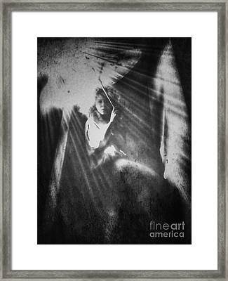 The One Who Waited Framed Print
