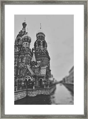 The Onion Dome Framed Print