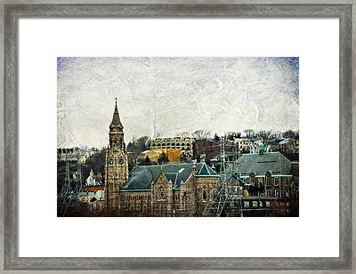 The Only Good Thing About The Highway Is The Scenery Framed Print by Trish Tritz