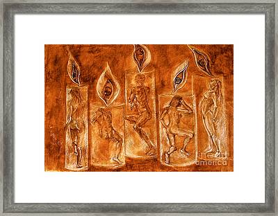 The Only Journey Is The One Within Framed Print by Delona Seserman