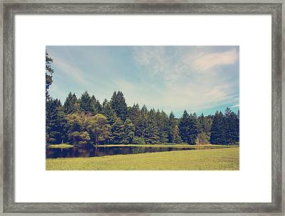 The Only Sound Framed Print by Laurie Search