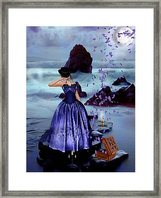 The Open Box Framed Print by Kristie  Bonnewell