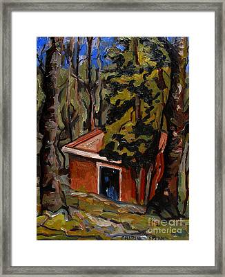 The Open Door Framed Print by Charlie Spear