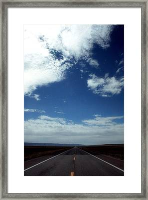 The Open Road Framed Print