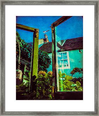 The Open Window Framed Print by Chris Lord