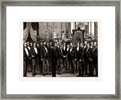 The Opening Festival Of The Gordon Boys Home The Prince Framed Print by Litz Collection