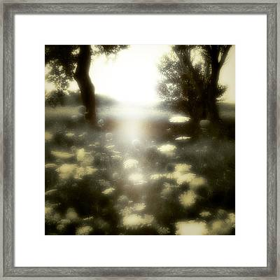 The Opening Framed Print by Gothicrow Images