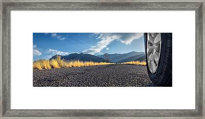 The Open Road 2114 Framed Print