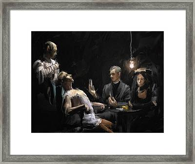 The Operation Framed Print by H James Hoff