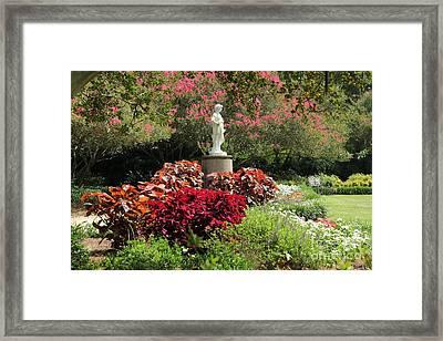 The Orangerie Garden Framed Print