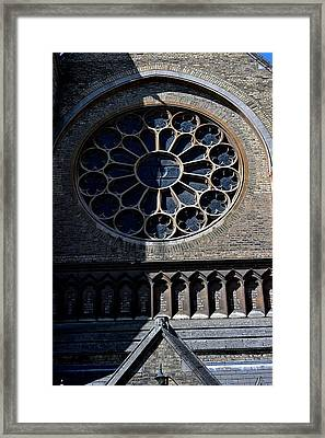 The Oratory Framed Print by Joseph Yarbrough