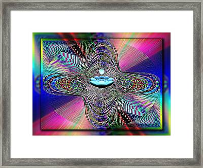 The Orb And The Bowl Framed Print by Tim Allen