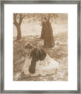 The Orchard, 1902 Vintage Platinum Print Framed Print by Clarence Henry White
