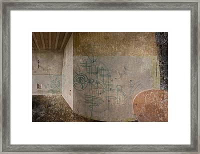 The Order Framed Print by Kandy Hurley