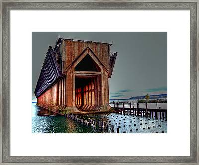 The Ore Is Gone . . . Framed Print