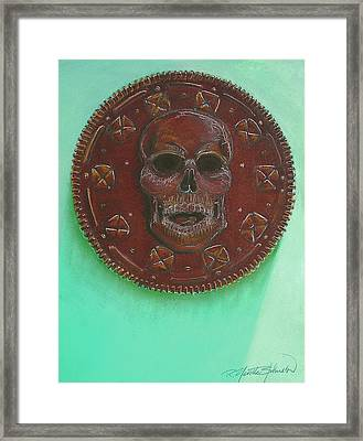 The Oreo Of Death Framed Print