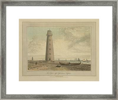 The Orford Ness Lighthouses Framed Print by British Library