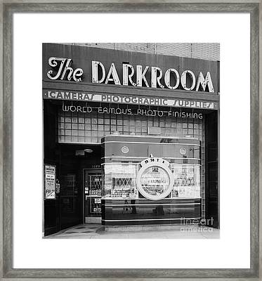 The Original Darkroom Framed Print by Edward Fielding